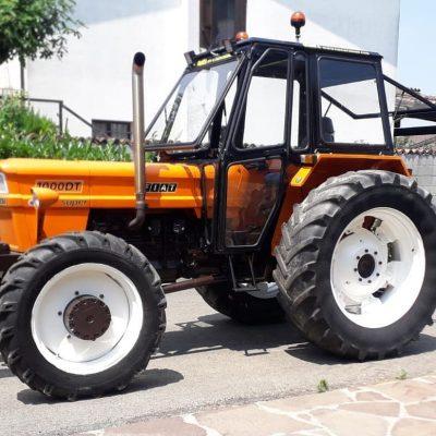 Omga cabine per trattori - cabina per Fiat 850-1000