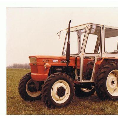 Omga cabine per trattori - cabina per Fiat 420
