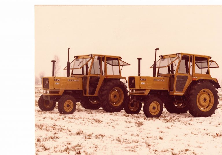 Omga cabine per trattori - cabina per Hurlimann 480