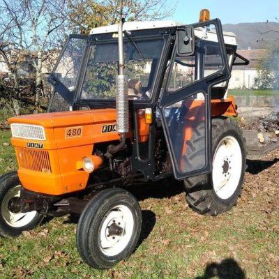 Omga cabine per trattori - cabina per Fiat 480