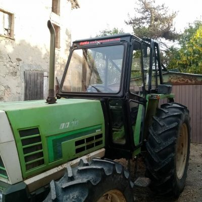 Omga cabine per trattori - cabina per Agrifull Serie 80