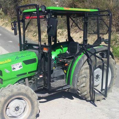 Omga cabine per trattori - cabina per Deutz-Fahr Agrolux 67 87