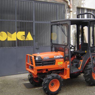 Omga cabine per trattori - cabina per Kuboa Serie B 2110