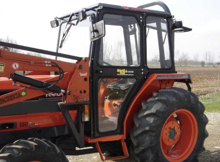 Omga cabine per trattori - cabina per Kubota 4200