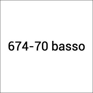 Lamborghini 674.70 basso