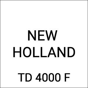 New Holland TD 4000 F