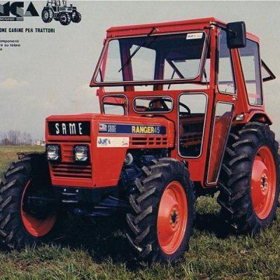 Omga cabine per trattori - cabina per Same Ranger