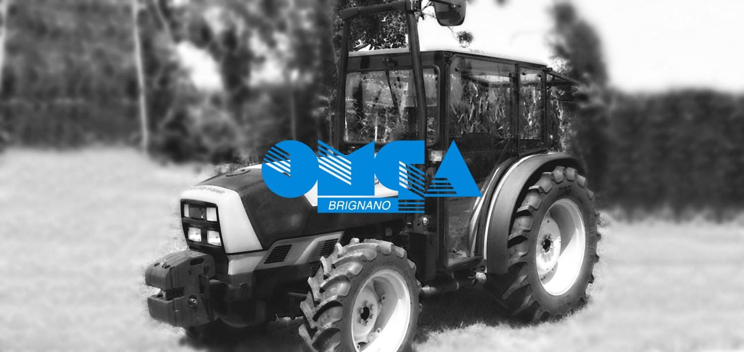 Cabines de tracteur Omga