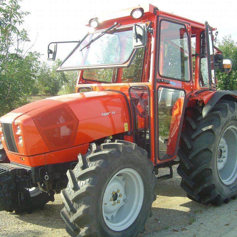 Omga cabine per trattori - cabina per Same - Tiger 60 65 70 75