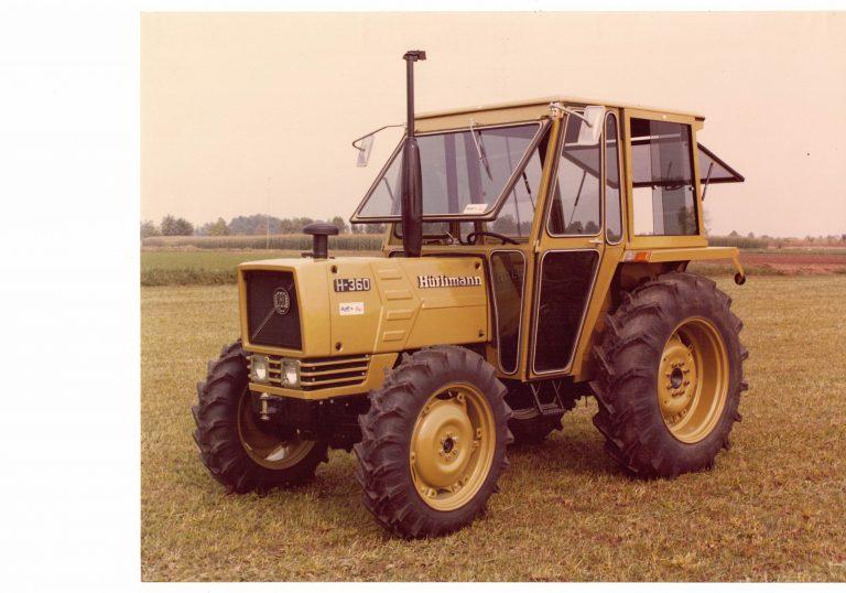 Omga cabine per trattori - cabina per Hurlimann 360