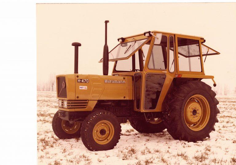 Omga cabine per trattori - cabina per Hurlimann 470