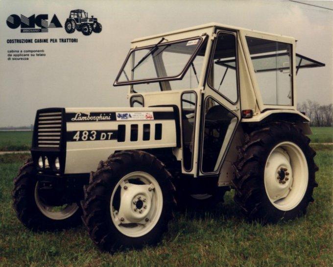 Omga cabine per trattori - cabina per Lamborghini 483
