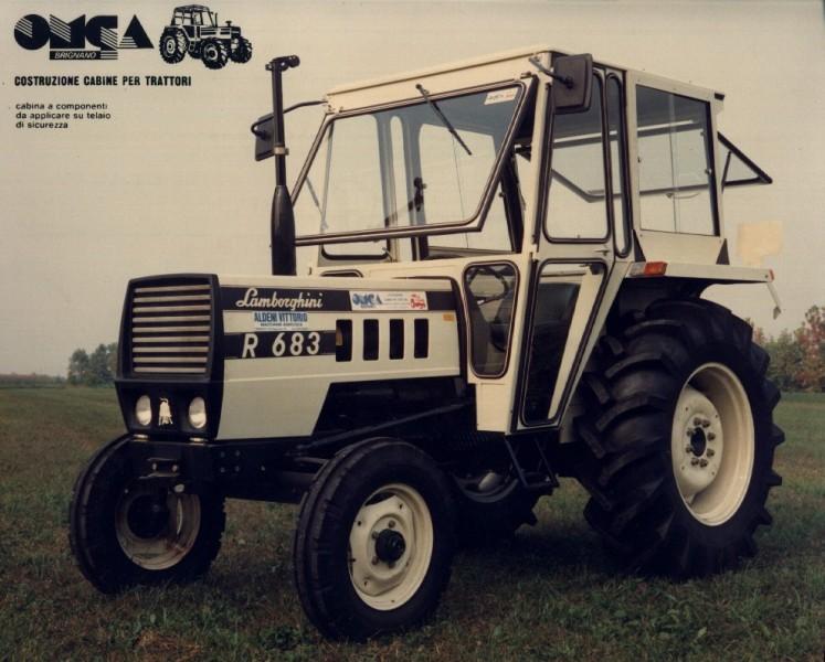 Omga cabine per trattori - cabina per Lamborghini 683