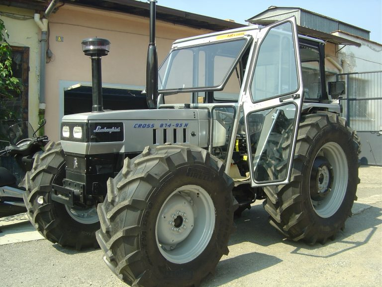 Omga cabine per trattori - cabina per Lamborghini Cross