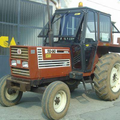 Omga cabine per trattori - cabina per Fiat Serie 88