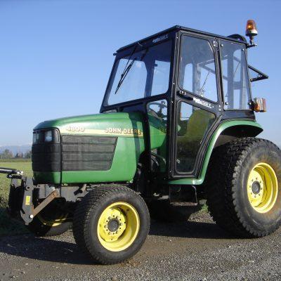 Omga cabine per trattori - cabina per John Deere Serie 4600