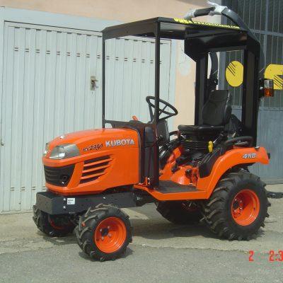 Omga cabine per trattori - cabina per Kubota BX 2350