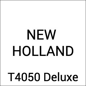 New Holland T 4050 Deluxe