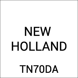 New Holland TN70DA